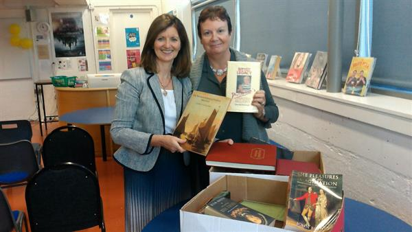 Past Pupils Book Donations