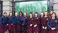 Student Council visit the Dáil
