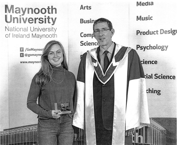 Award for past pupil