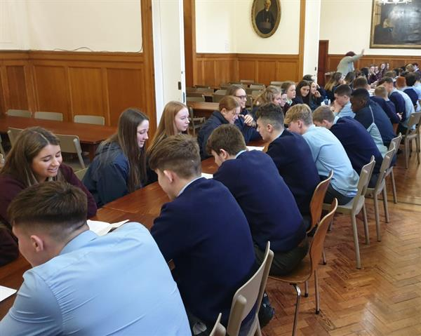 Transition Years practise their languages