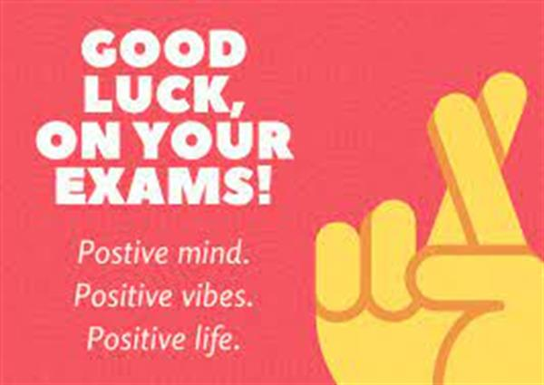 Good Luck Leaving Certs!!