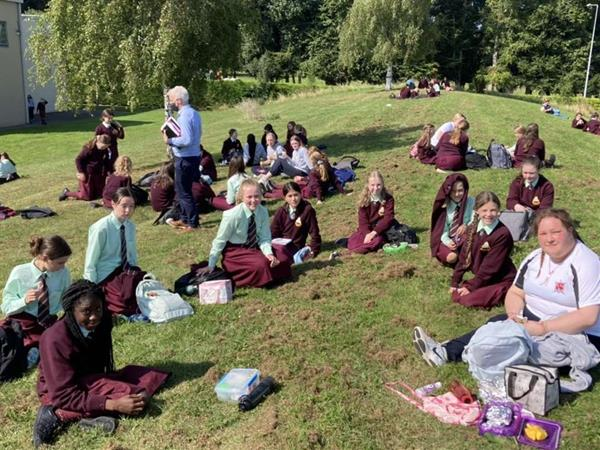 1st Year Lunch with Prefects