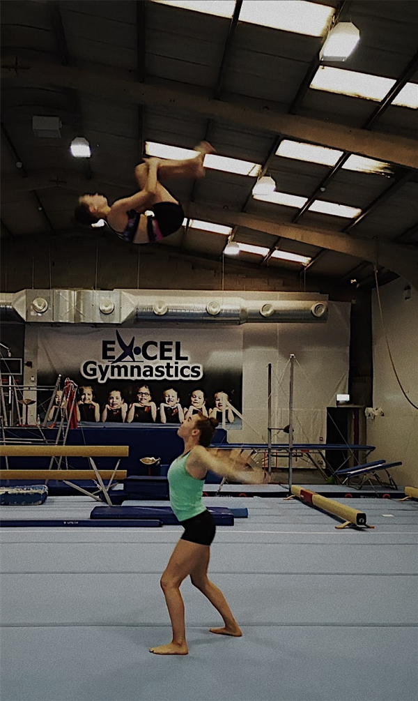 Best of luck to Ella as she represents Ireland in Gymnastics.