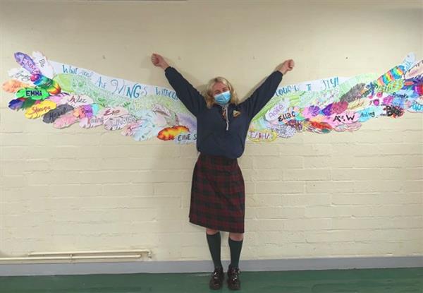 6th Year Collaborative Art Project Creative Schools Week 2021