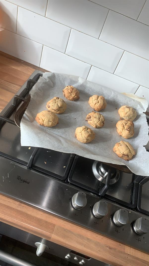 TY Baking class 'As Gaeilge'