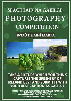 Seachtain Na Gaeilge: Photography Competition